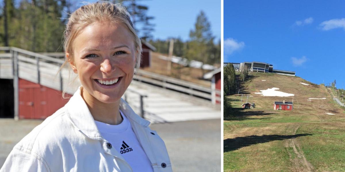 Skidstjärnan Frida Karlssons nya rekordtid i Hallstatestet – så snabbt sprang hon uppför den tuffa backen