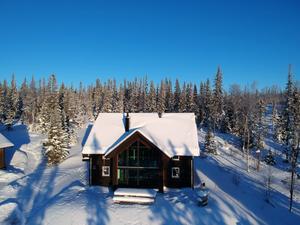 Det här huset i Ottsjö fick flest klick bland objekten i länet förra veckan. Foto: Jimmy Blomgren, Länsförsäkringar Fastighetsförmedling Åre
