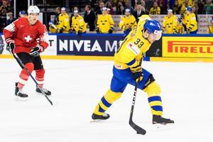 Viktor Arvidsson var en av NHL-spelarna som kastades in i hetluften. Foto: Petter Arvidson / Bildbyrån