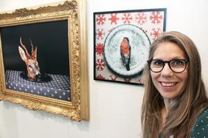 Annika Björndotter, fotograf, vill med sina bilder väcka tankar om liv och död. Just nu medverkar hon också i Fotografiska museets utställning Talent 2018 .