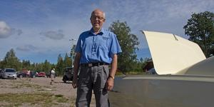 Erik Bohlin blev överraskad över utnämningen till årets bybo. Men med sin kunskap och engagemang tyckte Slånkvicku kommittén att han var väl värd priset.