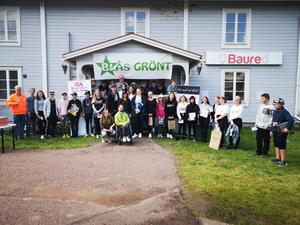 30 ungdomar fick pris under årets Blås grönt som arrangerades i samband med Musik och motorfestivalen i Älvdalen. Foto: Läsarbild