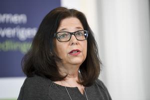 Arbetsförmedlingens generaldirektör Maria Mindhammar vill ha mer pengar, och också kunna flytta dem.