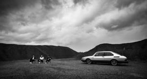 """Scen ur kommande långfilmen """"Sophelikoptern"""" av Jonas Selberg Augustsén."""