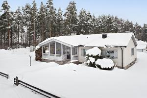 Huset på Barrskogsgatan är från 1958. Foto: Patrik Persson