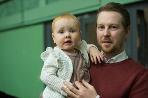 Bianca Martinsson, 1 år, Sundsvall.