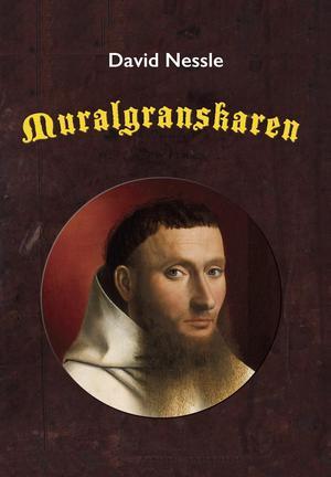 En medeltida munk med pottfrisyr är David Nessles avatar på Twitterkontot Muralgranskaren. En del av de över tusen inläggen har nu samlats i en bok med samma titel. Bild: Kartago förlag
