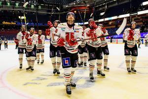 Örebro Hockey investerade i spelartruppen i början av året och det ledde till att klubben sedan gick mer back. En av spelarna som värvades var Anton Hedman. Foto: Fredrik Karlsson/BILDBYRÅN