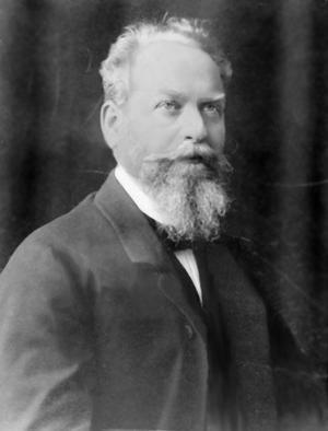 Den tyske filosofen Edmund Husserl 1900. Foto: Okänd