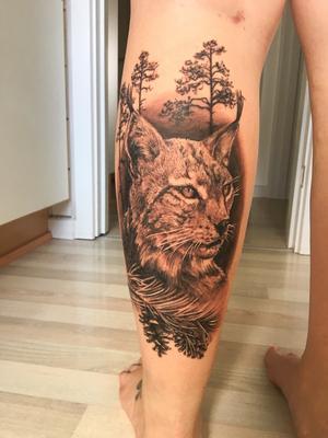 Så här ser tatueringen som gav Karin Jönsson tredje pris på Nordic Ink ut. Det är en så kallad