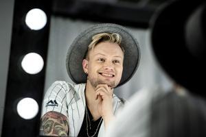 Freddie Liljegren känner sig lugn inför veckofinalen av Idol. Foto: Pontus Lundahl / TT