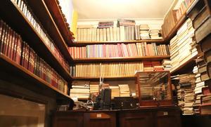 Samlingen av almanackor.