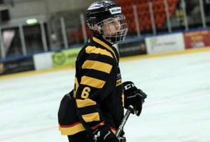 Fred Nilsson spelar till vardags i Skellefteås juniorlag.