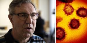 Anders Lindblom bekräftade två nya dödsfall till följd av coronaviruset under fredagsmorgonen.