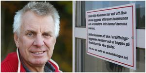 """""""Vi hittar inget sätt att samarbeta"""", säger Pigge Werkelin. Han har föreslagit att Södertälje kommun löser ut honom så att han kan lämna Farstanäs."""