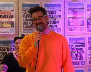 Johannes Kotschy sjunger