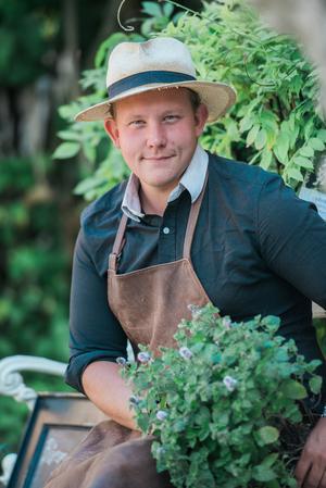 Foto: Rebecca Wallin. En köksträdgård är trendig i dag.