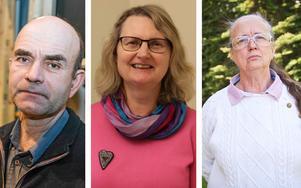 Per Möller (C), Marie Wilén (C) och Carina Schön (S) var de som fick flest personröster i valet.