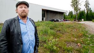 Studierektorn Anders Olsson ser med glädje fram emot att folkhögskolan startar till hösten.