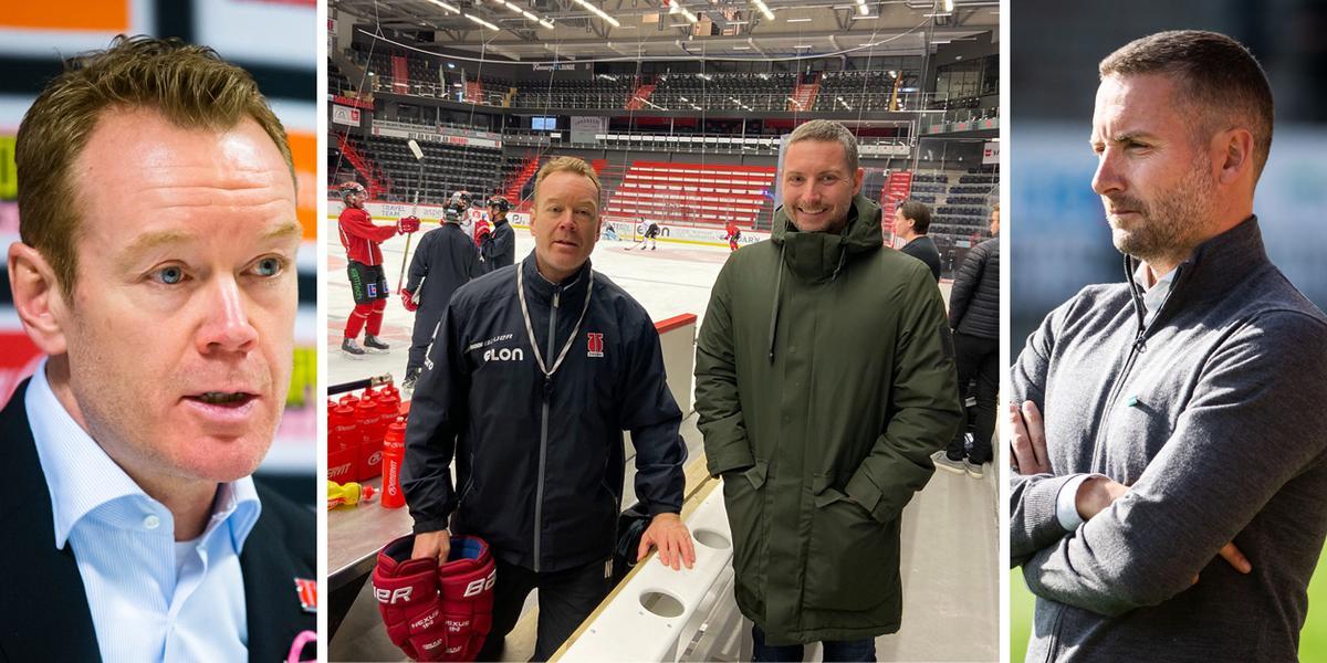 """Här dyker ÖSK-managern upp på Örebro Hockeys träning: """"Har mycket att lära av varandra"""""""