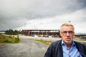 Nils Å Hallström, vd för Hallströms.