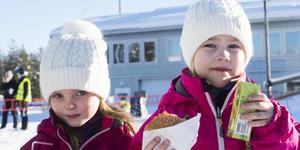 Sigrid Vikberg, 5 och Sigrid Bylund, 6.