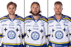 Oskar Lang, Andreè Hult och Linus Persson. Foto: Pelle Börjesson/Bildbyrån