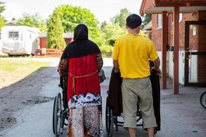 Nurije och Muharrem hoppas på att livet kan se annorlunda ut framöver. De önskar att de kunde få flytta till Falun, där de har släkt.