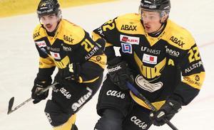 Fredrik Hettas och Niclas Lehmanns VIK tävlar för uppflyttning till Hockeyallsvenskan.