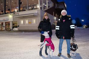 Ann-Marie Fernström och Tomas Sandman hade åkt från Norberg för att se på trav.