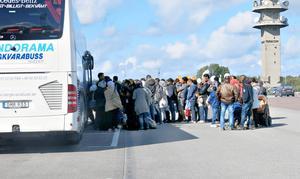 När Migrationsverket slussar asylsökande till andra platser är det oftast med kort varsel beroende på var det finns plats. Men platser till asylsökande finns i Sverige. Men få vill till Gävle med omnejd.