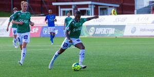 Christian Kouakou gjorde ett mål och hade bud på fler i Brages segermatch mot Trelleborg (2–0).