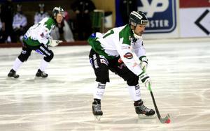 Fredrik Brandin fixade poängen när Frillesås noterade sitt första kryss i elitserien.