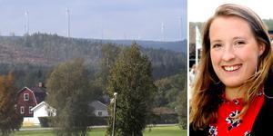 Vindbruk Haverös projektledare Emelie Säterberg räknar med att en förening snart ska finnas på plats för att hantera den ersättning som snart börjar utbetalas från vindkraftparkerna i Haverö.