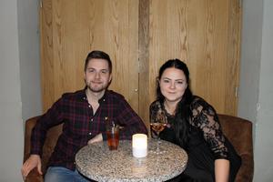Markus Collin och Ida Gustafsson. Foto: Py Tenor