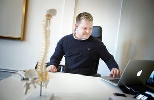 """""""Kliniken i Södertälje är en av fem som finns i Stockholmsområdet"""", säger klinikföreståndare Daniel Høeg."""