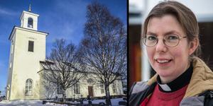 Hanna Pettersson är ny kyrkoherde i Krokoms pastorat. Foto: Ingmar Reslegård/Anders Gustafsson