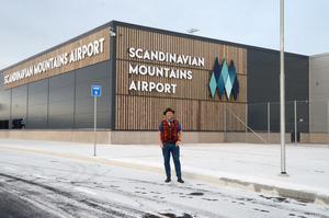 När Jonas Persson  började jobba med projektet kring flygplatsen handlade mycket om att övertyga andra om att hans idé var rätt.