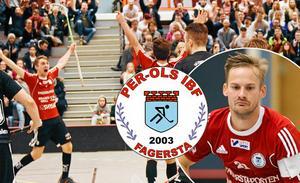 Samuel Jansson öste in 9 mål i den helt galna matchen. Per-Ols gjorde totalt 31 mål.Bild: Arkivbild