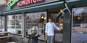 60-åringen Fricks Konditori kallas ofta för en av Rättviks största profilbärare.