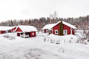 Denna fastighet på Krossgatan i Borlänge hade näst flest klick på Hemnet under vecka 8, sett till objekten som var till salu i förra veckan. Foto: Kristofer Skog