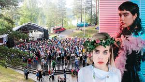 Urkult hålls i vanlig ordning första helgen i augusti – och i år gästar bland annat Säkert! och Beatrice Eli. Foto: Montage/Ida Stiller/pressbilder