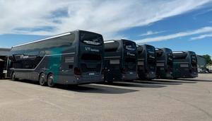 Bus4You utökar sina turer till Göteborg och Stockholm från Jönköping