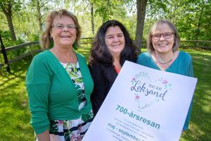Karin Westerlund, Marianne Sellner och Stina Liljas hoppas många tar tillfället i akt och lär sig mer om Leksand.