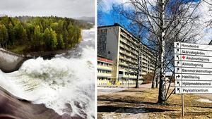 Inkomster och skatter från bland annat vattenkraften i Sollefteå borde stanna just i Sollefteå, skriver Arne Forsell, medlem i Landsbygdspartiet oberoende. Då skulle den ekonomiska driften av ett fullvärdigt akutsjukhus på orten inte vara ett problem.