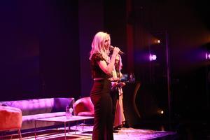 Angelica Häreby tackade bland annat sina lagkamrater och tvillingsystern Patricia under sitt tal.