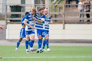 I början av matchen var det IFK Mora som jublade mest på Sparbanken Arena i Hudiksvall.
