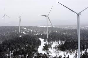 Stena Renewable AB bygger ytterligare tre vindkraftverk i Vindpark Saxberget, Ludvika kommun, en satsning på 120 miljoner kronor.