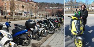 Zabina Andersson, 16 tog moppekörkortet i mars.