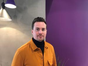 Magnus Limås är pressansvarig på Telia. Foto: Telia